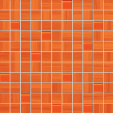 Мозаика Tubadzin Wave orange 30x30