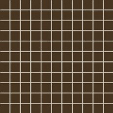 Настенная мозаика Tubadzin Colour Brown square